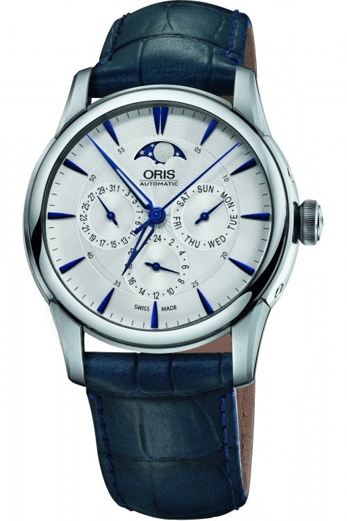 Mens Oris Artelier Complication Moonphase Automatic Watch 0178177034031-0752175FC