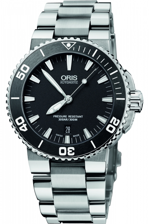 Mens Oris Aquis Date Automatic Watch 0173376534154-0782601PEB