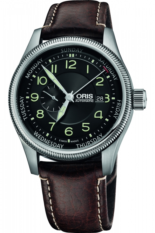 Mens Oris Big Crown Small Second Automatic Watch 0174576884034-0752277FC