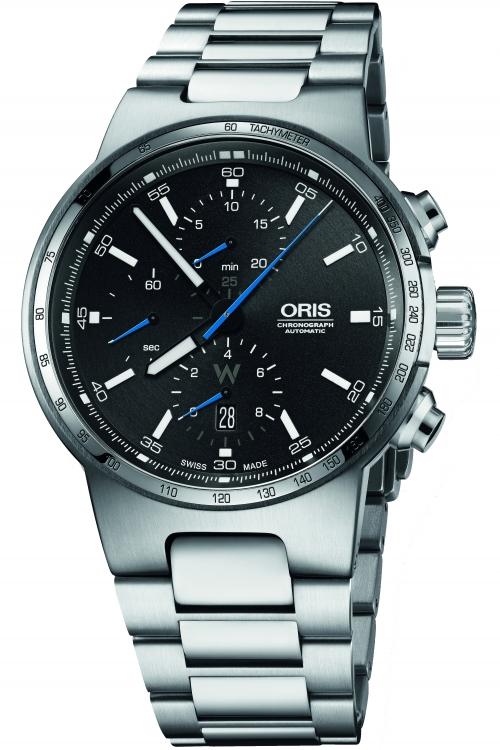 Mens Oris Williams F1 Automatic Chronograph Watch 0177477174154-0782450