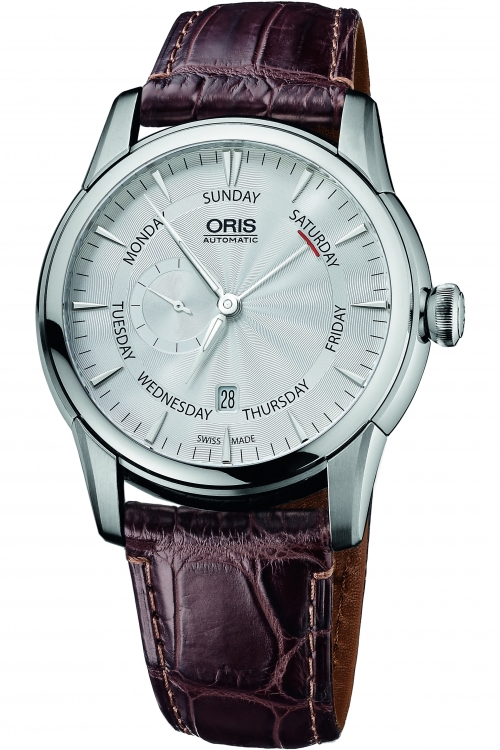 Mens Oris Artelier Small Second Automatic Watch 0174576664051-0752370FC