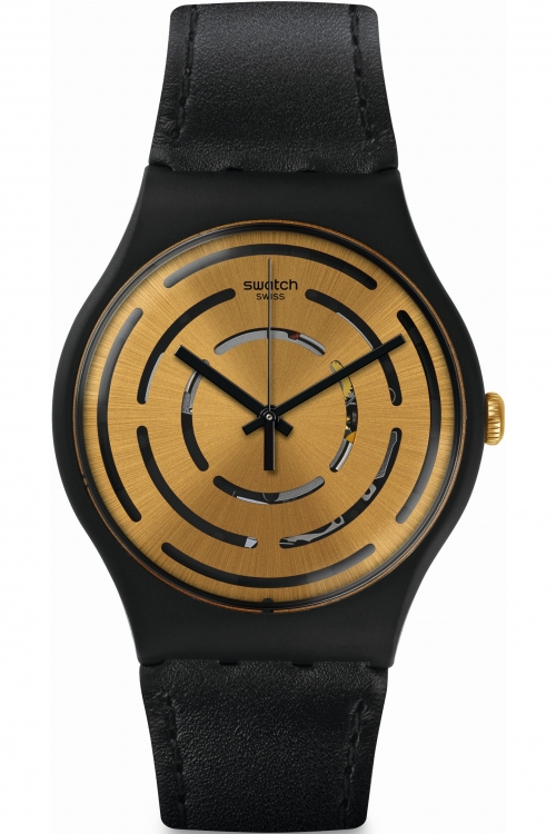 Mens Swatch SEEING CIRCLES Watch SUOB126