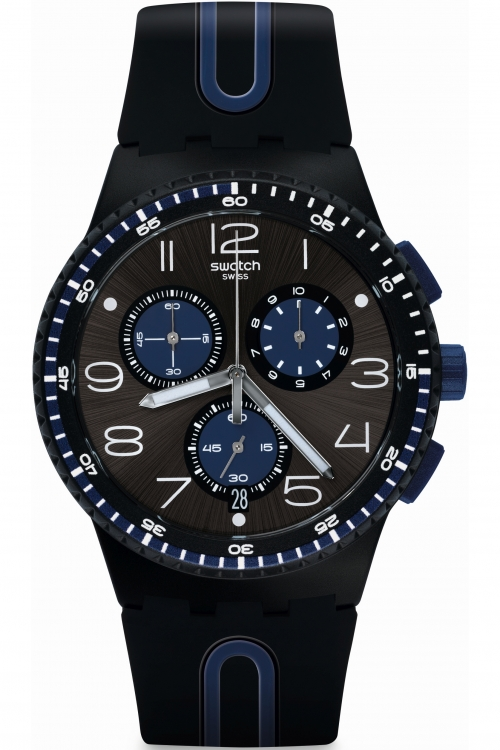 Mens Swatch KAICCO Chronograph Watch SUSB406