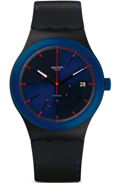 Mens Swatch Sistem Notte Automatic Watch SUTB403