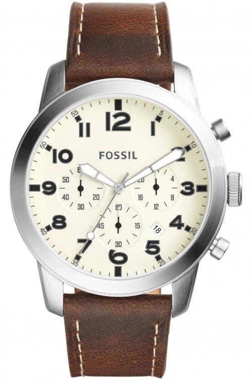 Mens Fossil PILOT Chronograph Watch FS5146
