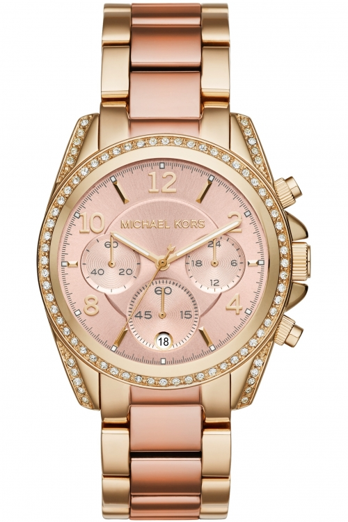 Ladies Michael Kors BLAIR Chronograph Watch