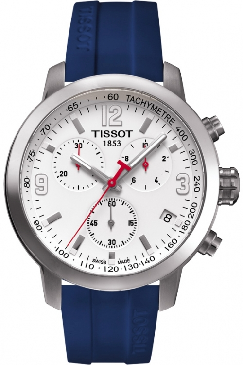 Mens Tissot PRC200 RBS 6 Nations 2016 Special Edition Chronograph Watch T0554171701701