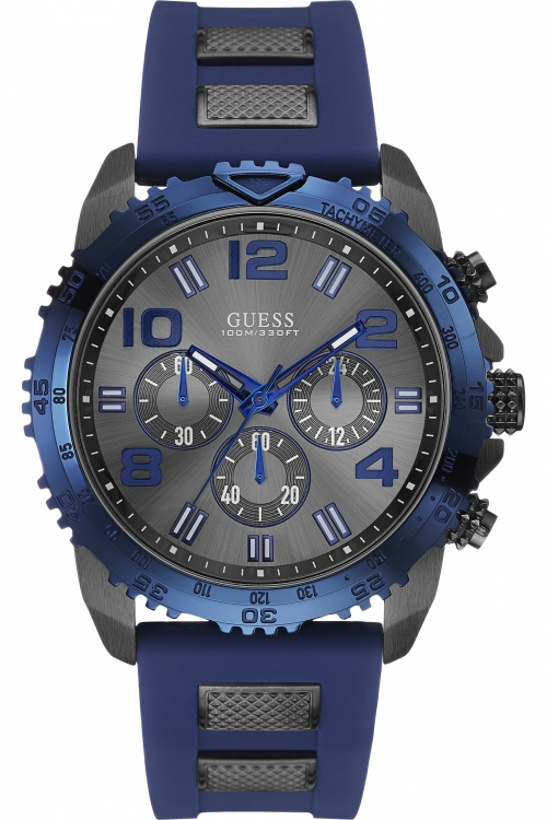 Mens Guess VELOCITY Chronograph Watch W0599G2