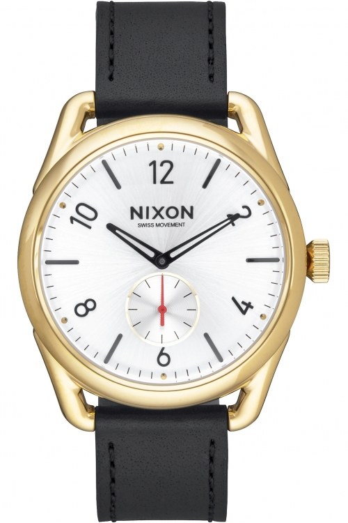 Mens Nixon THE C39 LEATHER Watch A459-2226