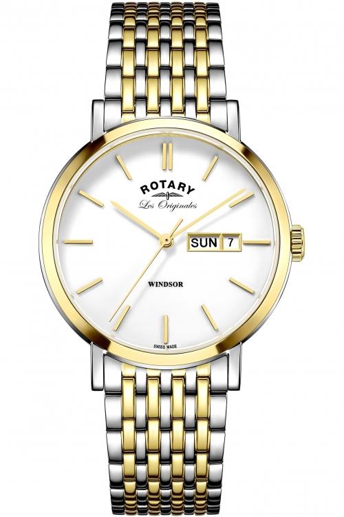 Mens Rotary Les Originales Windsor Watch GB90154/01