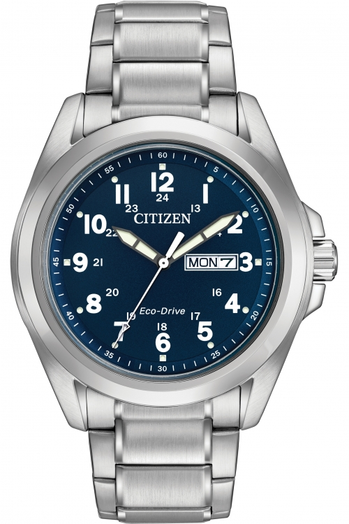 Mens Citizen Sport WR100 Eco-Drive Watch AW0050-58L