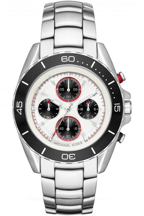 Mens Michael Kors Jetmaster Chronograph Watch MK8476