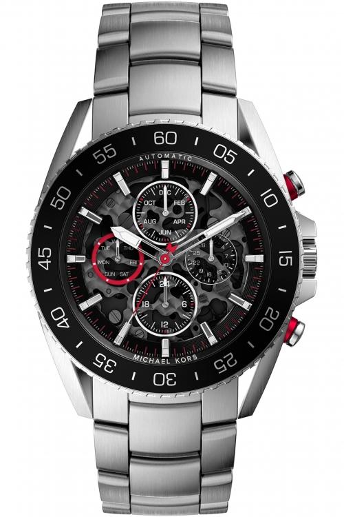 Mens Michael Kors Jet Master Automatic Watch MK9011