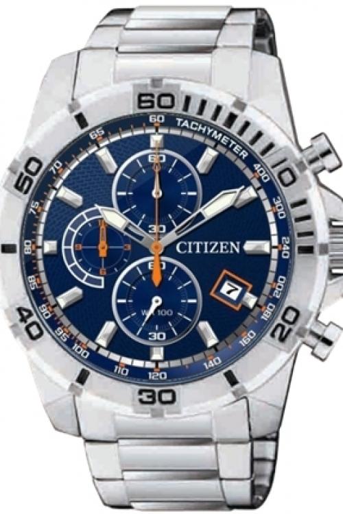 Mens Citizen Quartz Chronograph Watch AN3490-55M