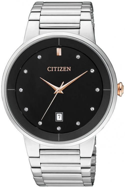Mens Citizen Quartz Watch BI5014-58E