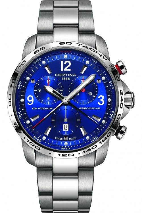 Mens Certina DS Podium Precidrive Chronograph Watch C0016471104700