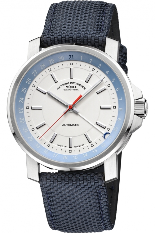 Mens Muhle Glashutte 29er Big Zeigerdatum Automatic Watch M1-25-32-NB