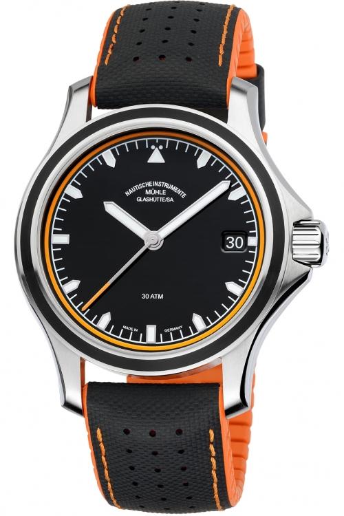 Mens Muhle Glashutte Promare Datum Automatic Watch M1-42-13-NB