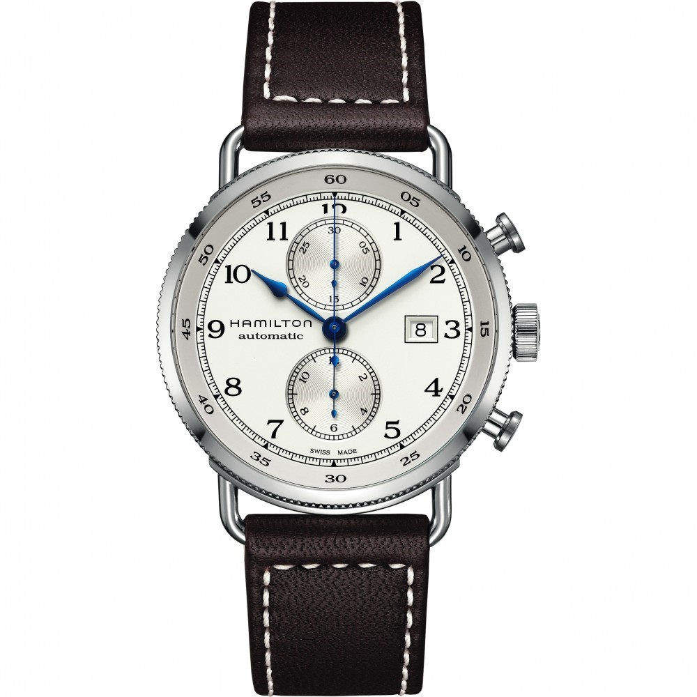 Mens Hamilton Khaki Navy Watch