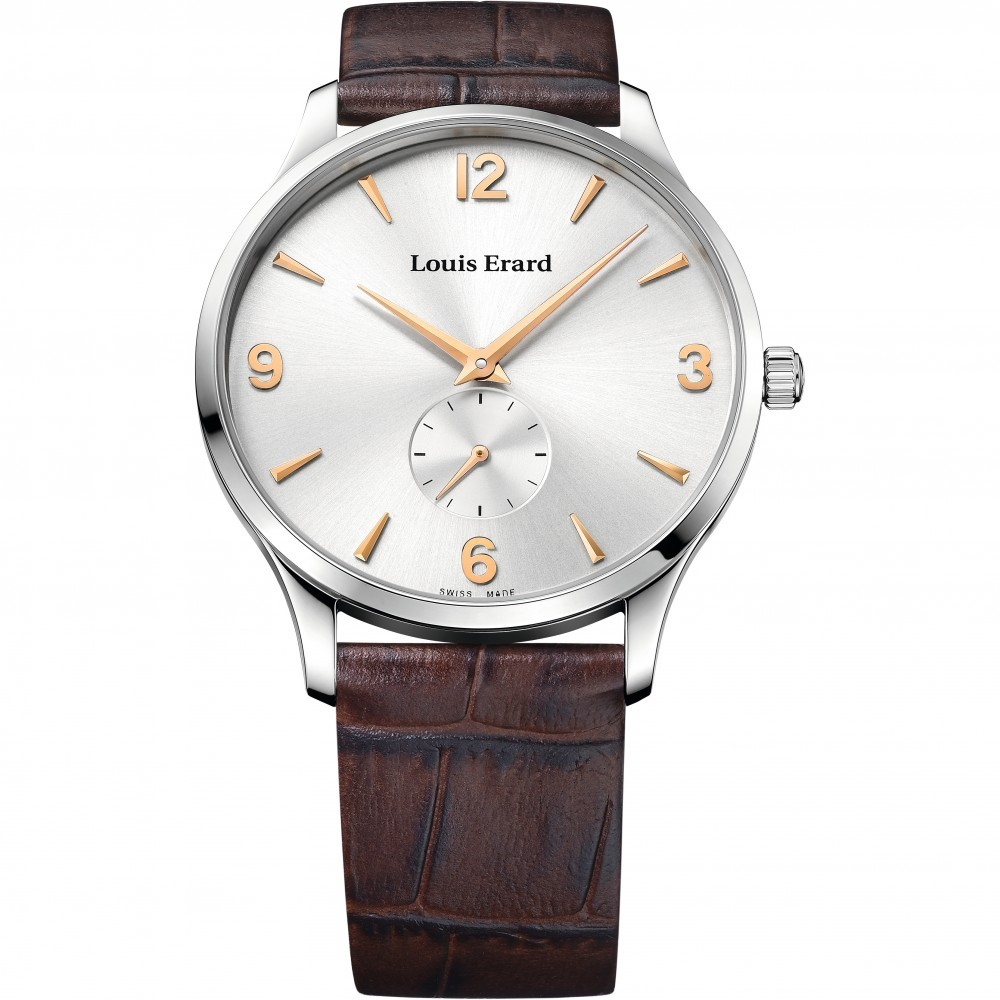 Mens Louis Erard 1931 Ultra Thin Mechanical Watch 47217AA11.BEP01