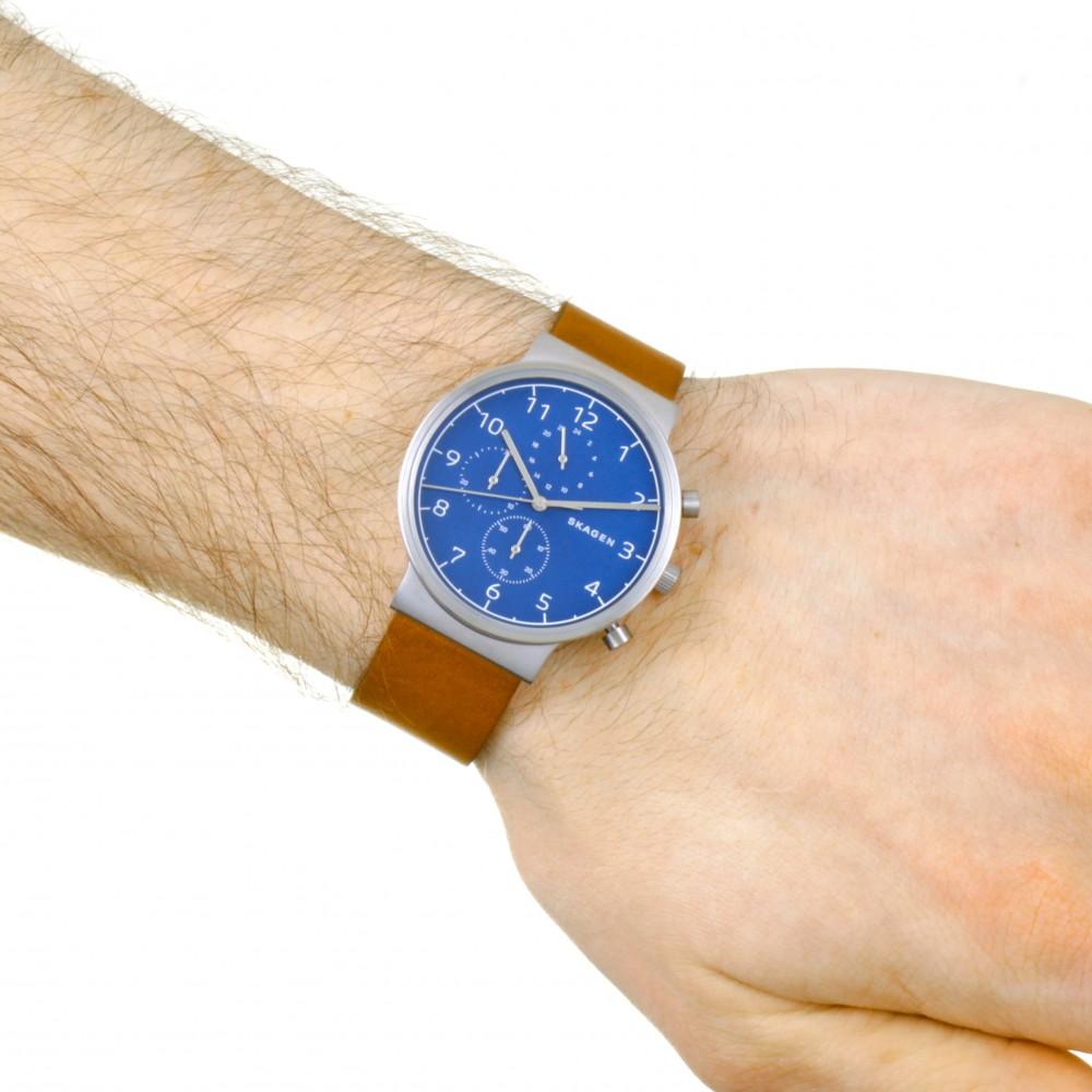 fcff562e1 Mens Skagen Ancher Chronograph Watch SKW6358