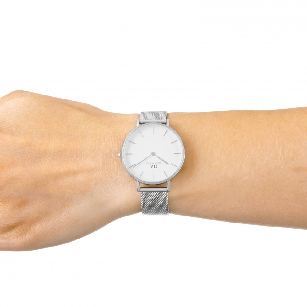 969c71a78 Daniel Wellington Petite 32 Sterling S White Watch DW00100164