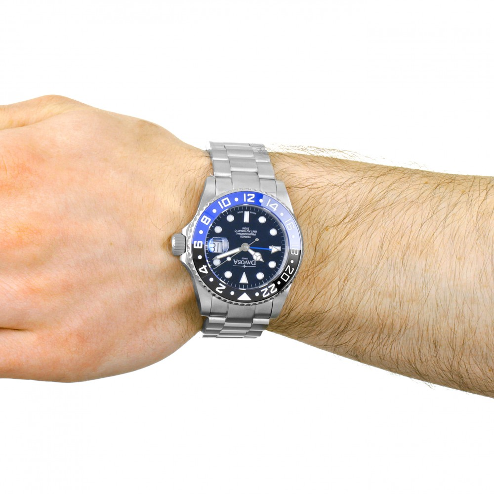 davosa gmt  Mens Davosa Ternos Professional TT GMT Automatic Watch 16157145