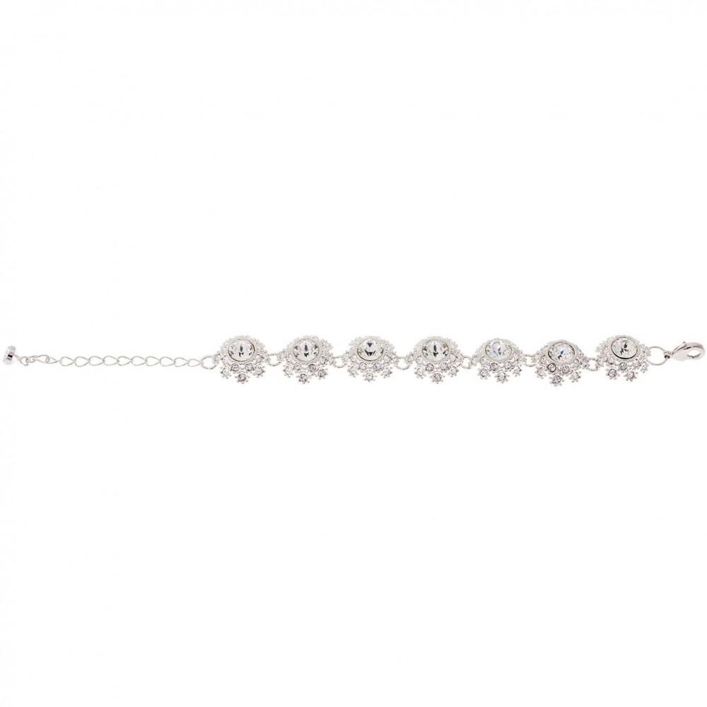 ef0cc2cec Ted Baker Jewellery Seah Crystal Daisy Lace Bracelet JEWEL TBJ1581-01-02