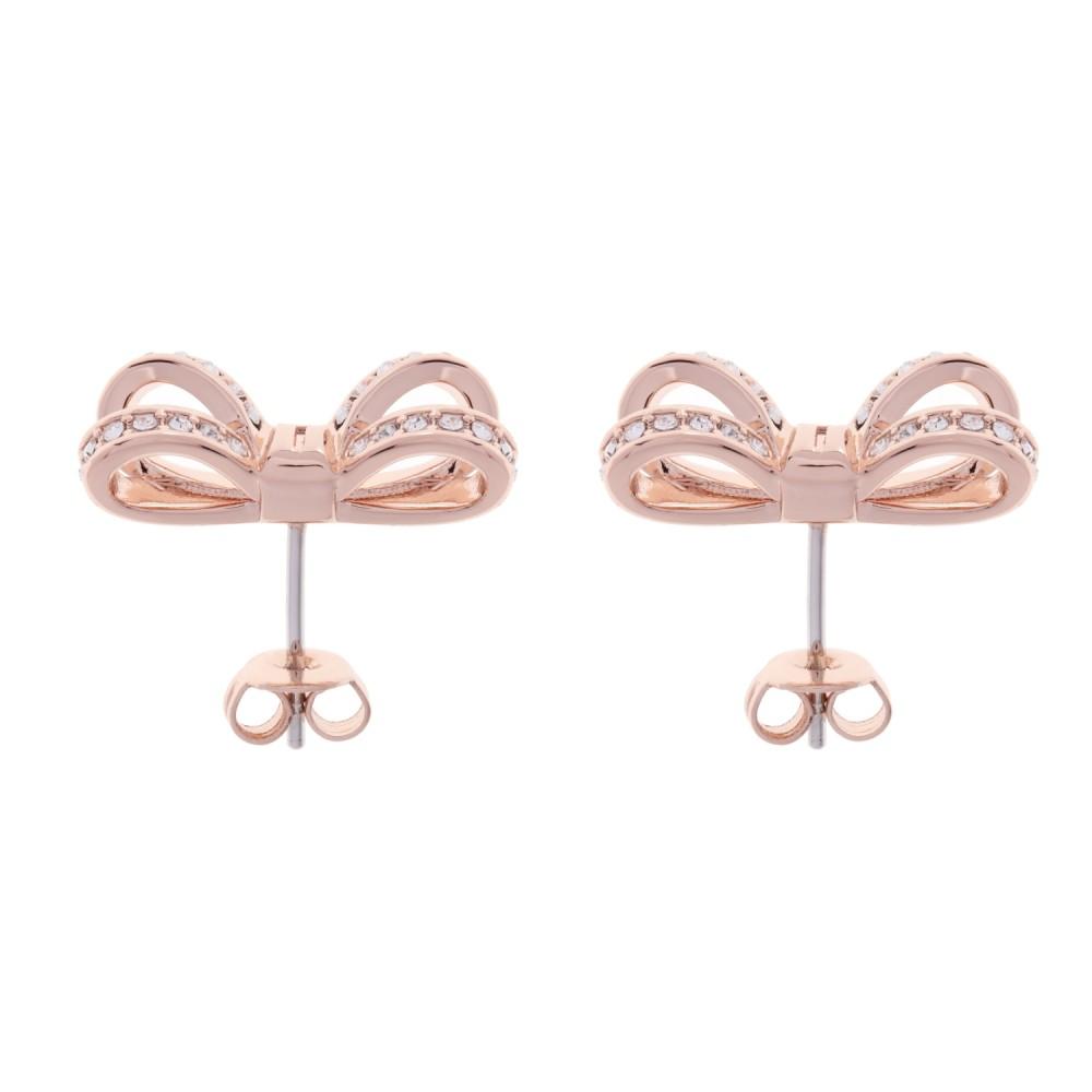 df00c5987 Ted Baker Jewellery Olitta Mini Opulent Pave Bow Earring JEWEL ...