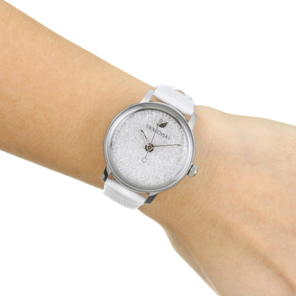 Ladies Swarovski Crystalline Hours Watch 5295383 3b5047105b3