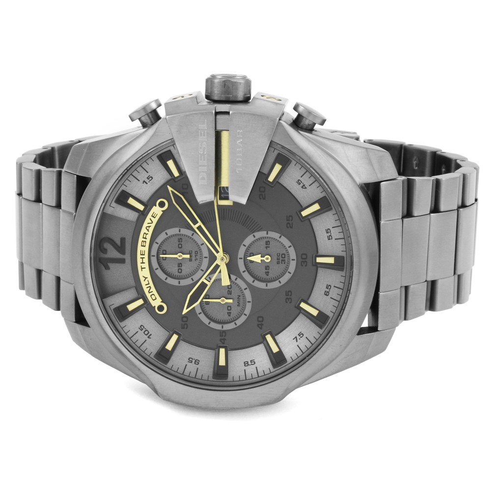 6c5ab2719 Mens Diesel Mega Chief Chronograph Watch DZ4466