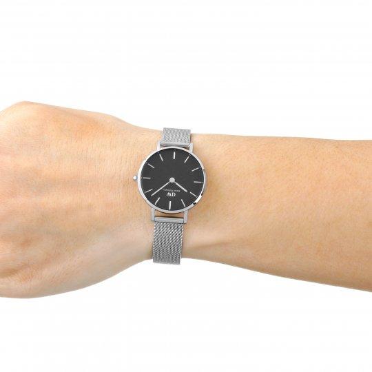 15d548d94 Daniel Wellington Petite 28 Sterling S Black Watch DW00100218