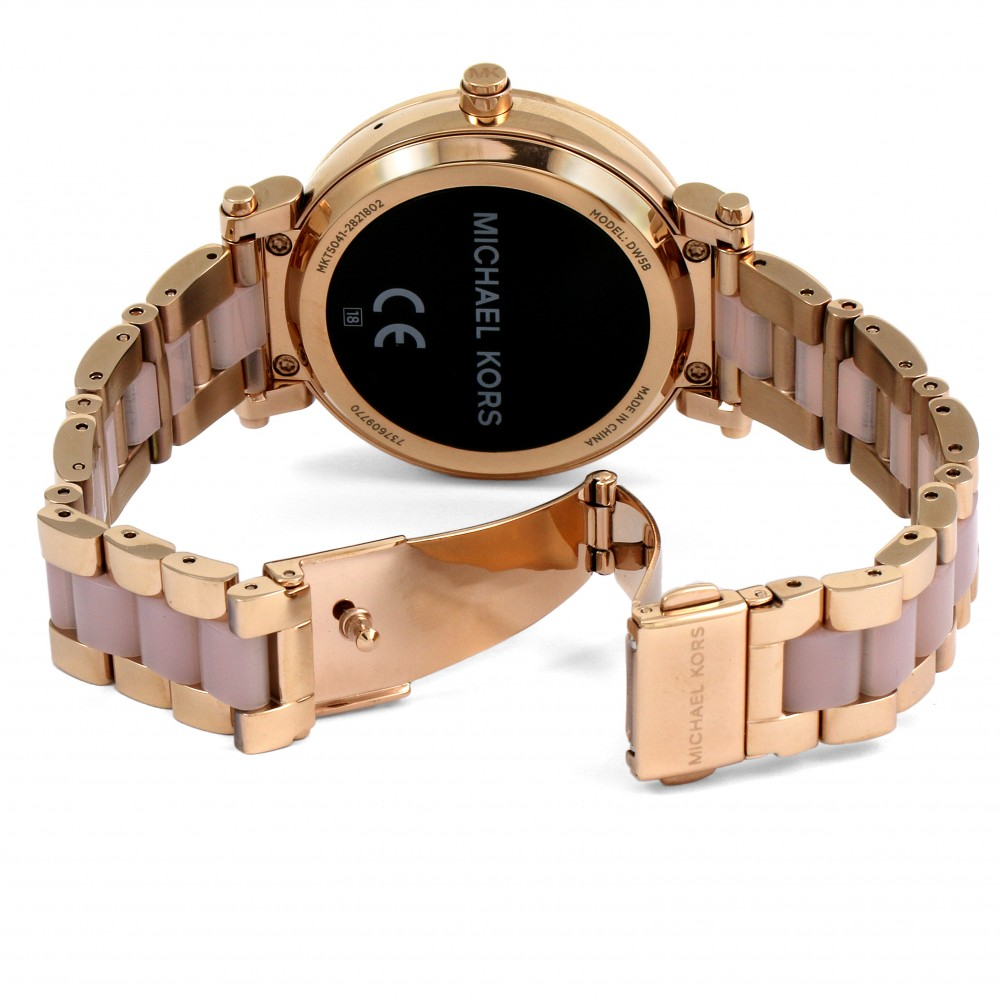 1b020d691299 Ladies Michael Kors Access Bluetooth WearOS Sofie Smartwatch MKT5041