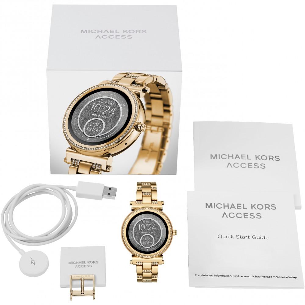 49b88b047d32 Ladies Michael Kors Access Bluetooth WearOS Sofie Smartwatch MKT5023