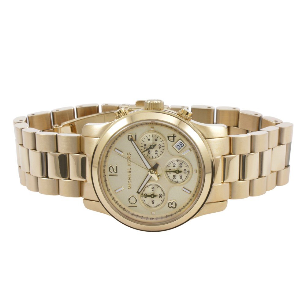 2387ba6cdb4a Ladies Michael Kors Runway Chronograph Watch MK5055