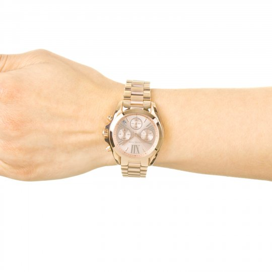 898a24e5f186 Ladies Michael Kors Bradshaw Mini Chronograph Watch MK5799