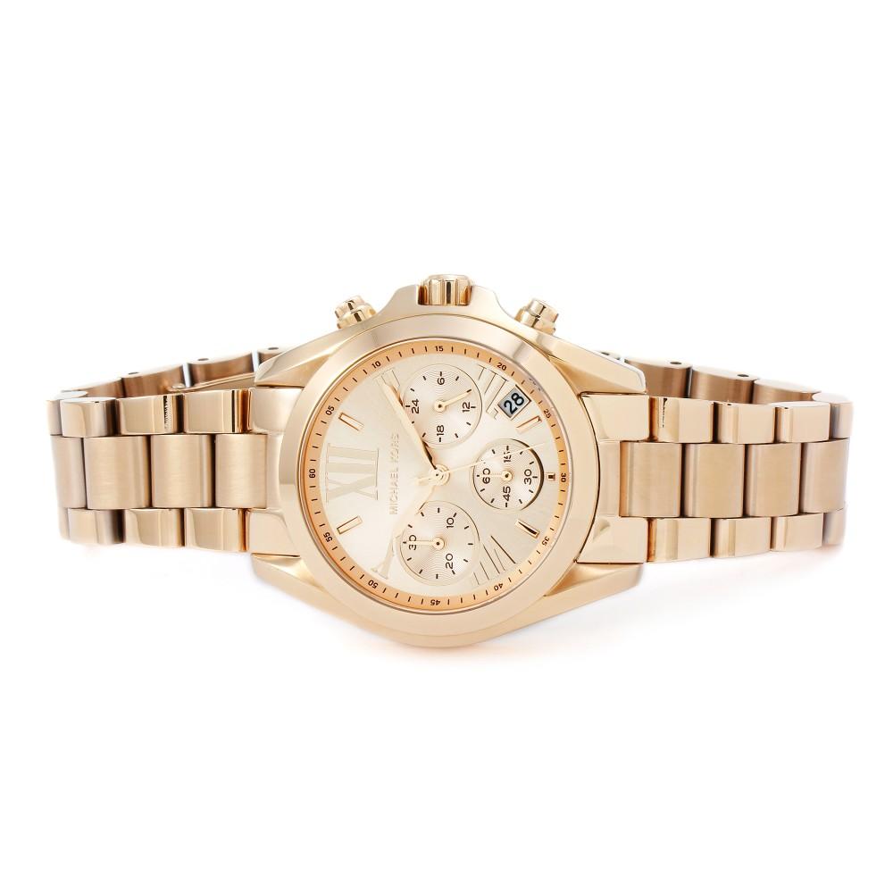 30cdaac3cc85 Ladies Michael Kors Bradshaw Mini Chronograph Watch MK5799