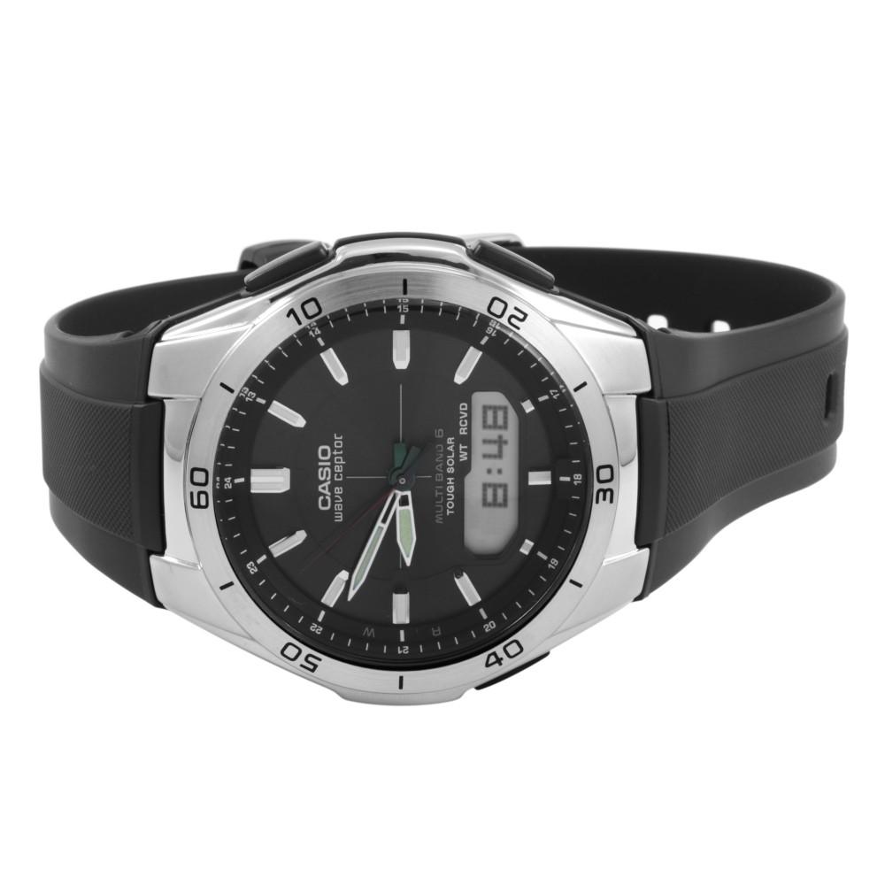 54c3c38eb95b Mens Casio Waveceptor Alarm Chronograph Radio Controlled Watch WVA ...