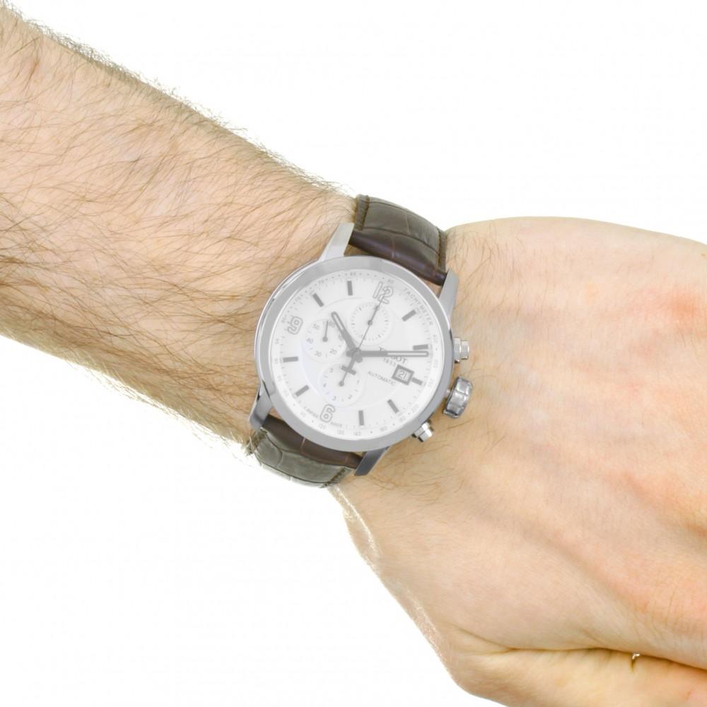 e6135c67c Mens Tissot PRC200 Automatic Chronograph Watch T0554271601700
