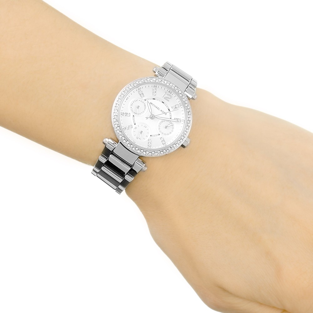 701b39cce637 Ladies Michael Kors Mini Parker Watch MK5615