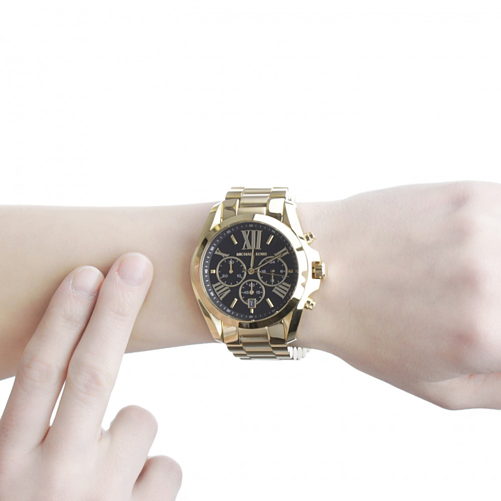 3c012cabfaa5 Ladies Michael Kors Bradshaw Chronograph Watch MK5739