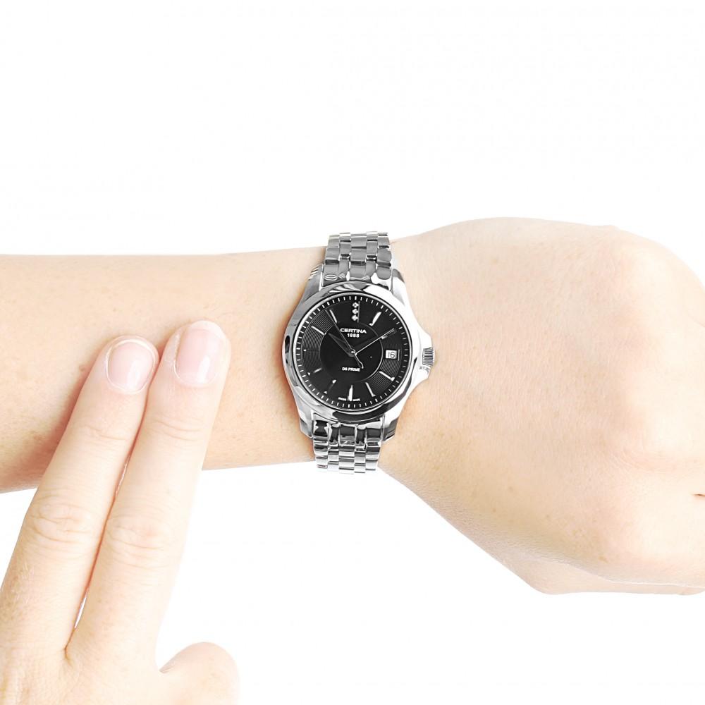 Ladies Certina DS Prime Diamond Watch C0042101105600 161c7ac6dec