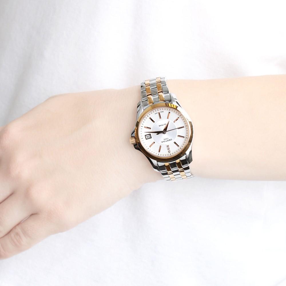 Ladies Certina DS Prime Diamond Watch C0042102203600 7bd818f9a5d