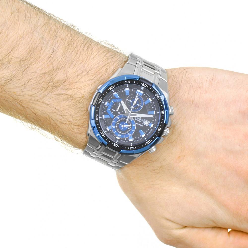 Mens Casio Edifice Chronograph Watch EFR-539D-1A2VUEF 151dbde4c