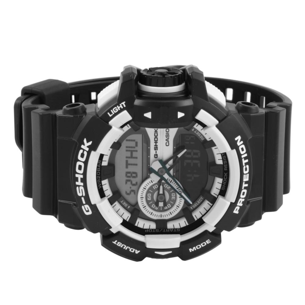 d25c37f24c5a Mens Casio G-Shock Alarm Chronograph Watch GA-400-1AER