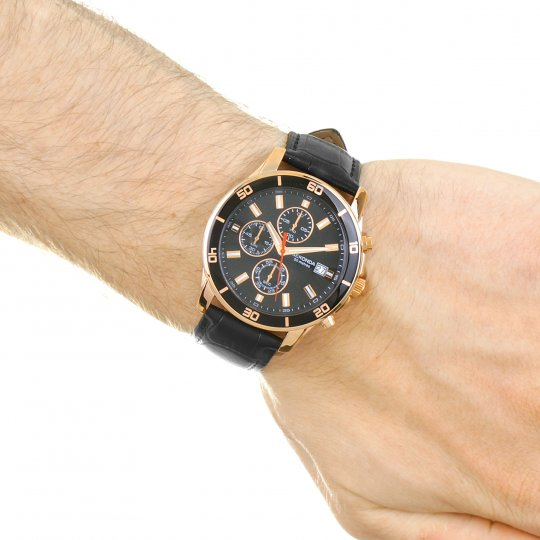 3dfc539c9fc3 Mens Sekonda Night Fall Chronograph Watch 1051. keyboard arrow right  keyboard arrow left