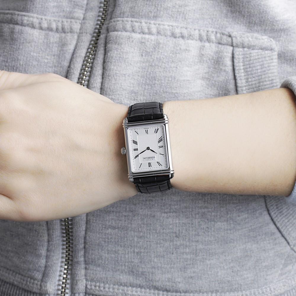 Esprit Art Deco Com mens michel herbelin 1925 esprit art deco watch 17468/08