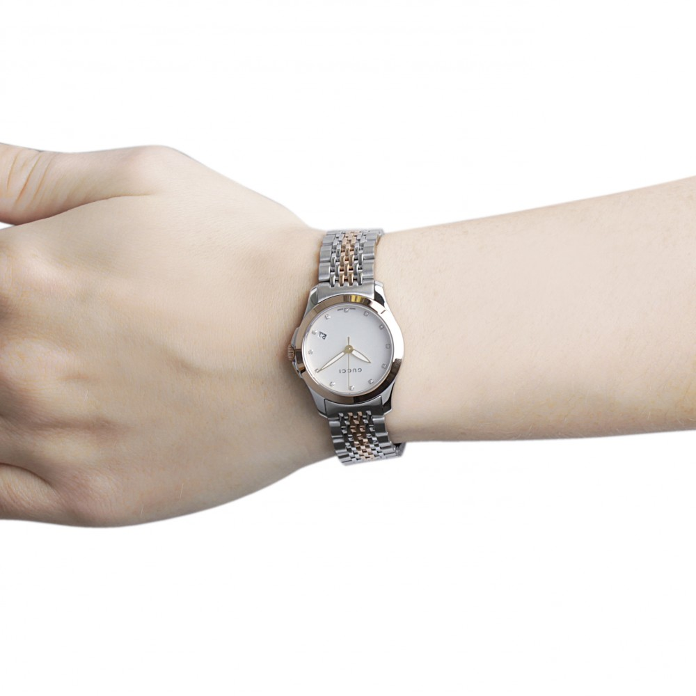 a95a5117726 Ladies Gucci G-Timeless Watch YA126513