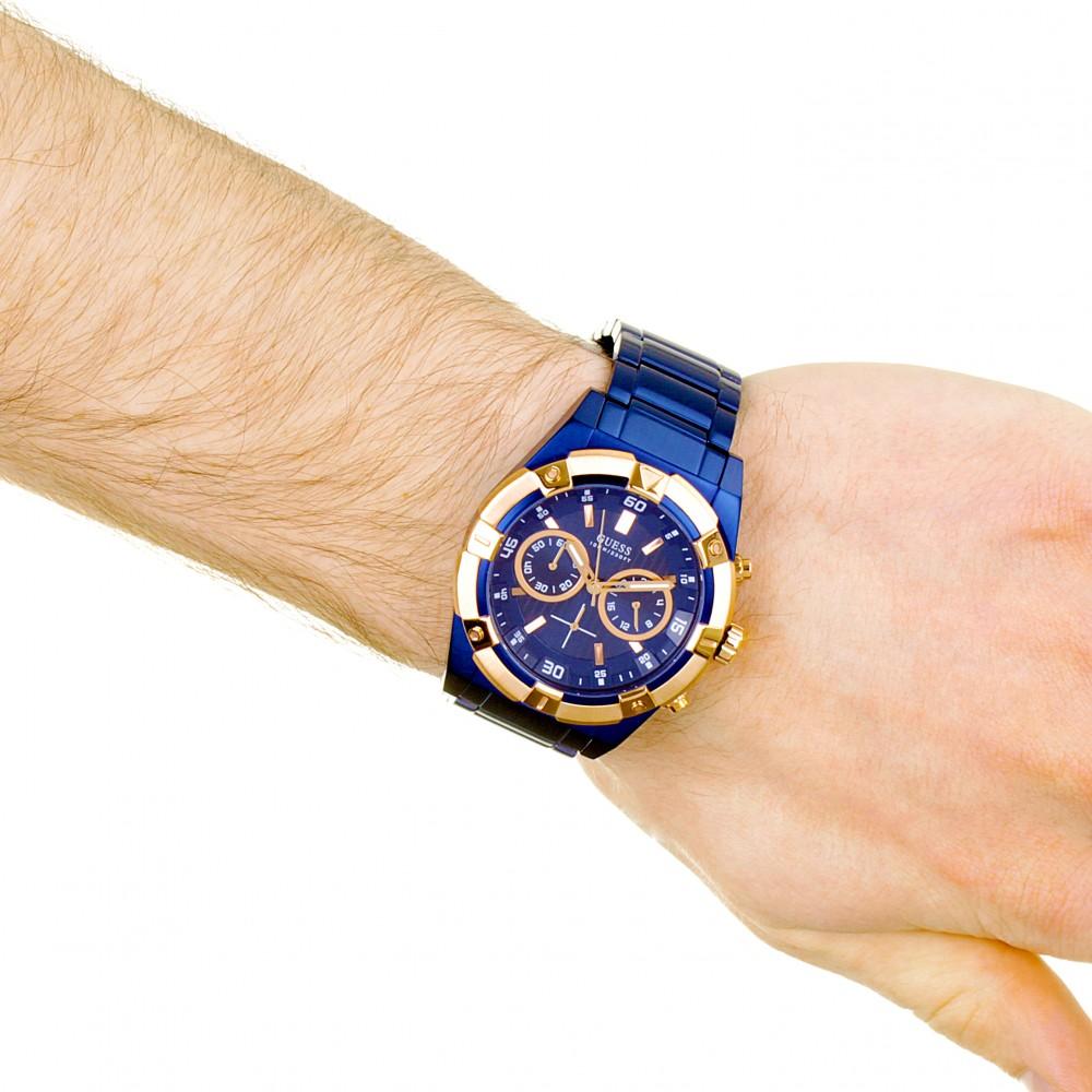 cbcad8f05a7 Mens Guess Jolt Chronograph Watch W0377G4