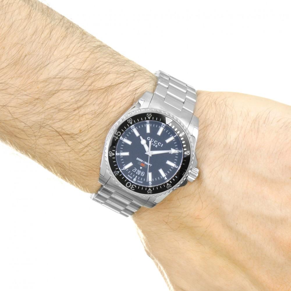 9380e7695 Mens Gucci Dive 40mm Watch YA136301A